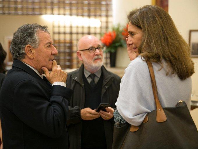 Nacho Urquiza, Federico Reynaud y Geo Lagos