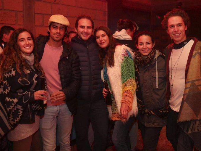Isabel Guzmán, Juan Rodríguez, Omar Hadad, Mónica Hurtado, María Palláres y Lodovico Marzotto