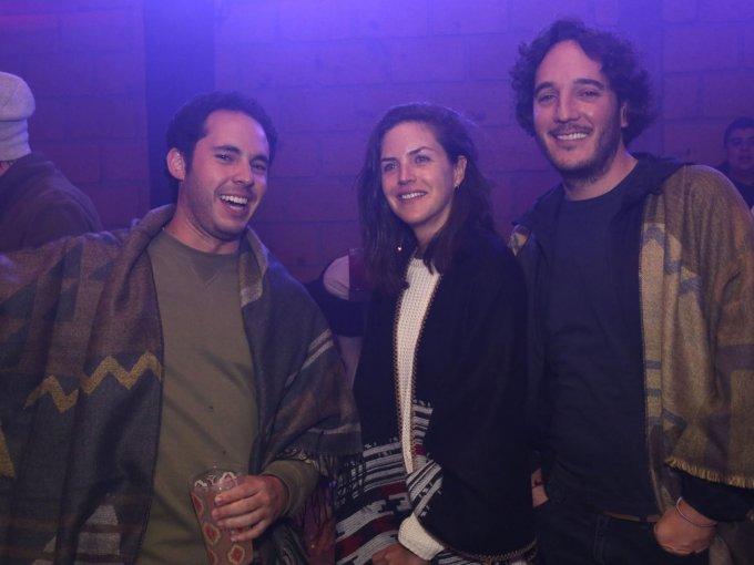 Eduardo Glenmie, Daniela Corcuera y Fernando de Haro