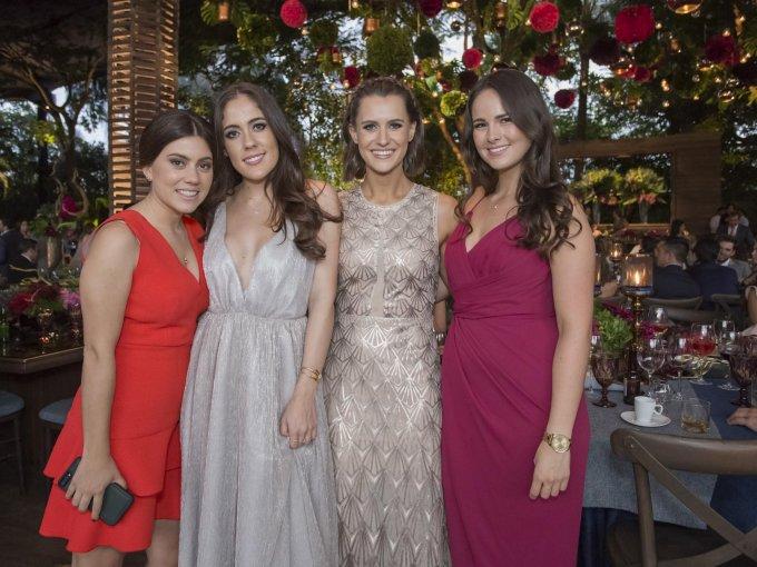 Alejandra Pardinas, Sandra Blanco, Lucía Bosch y Alexa Espinosa