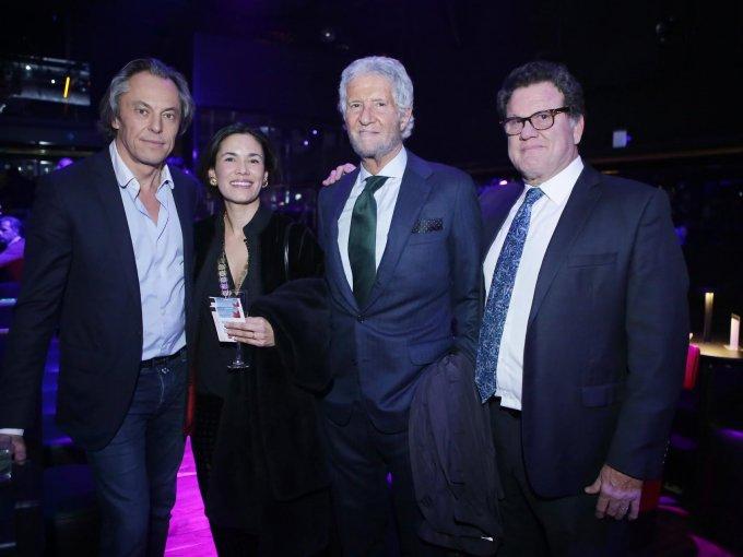 Xavier de Bellefon, Constanza Carrascal, Joe Slim y Sergio Olvera