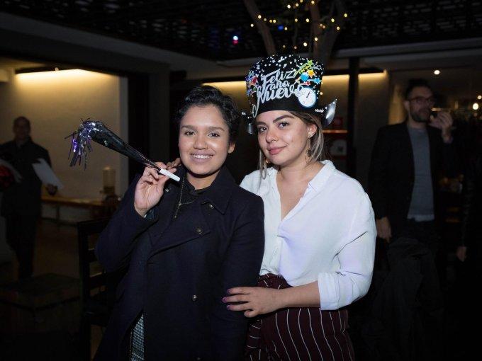 Gibrana Tavares y Nahomi Ortiz