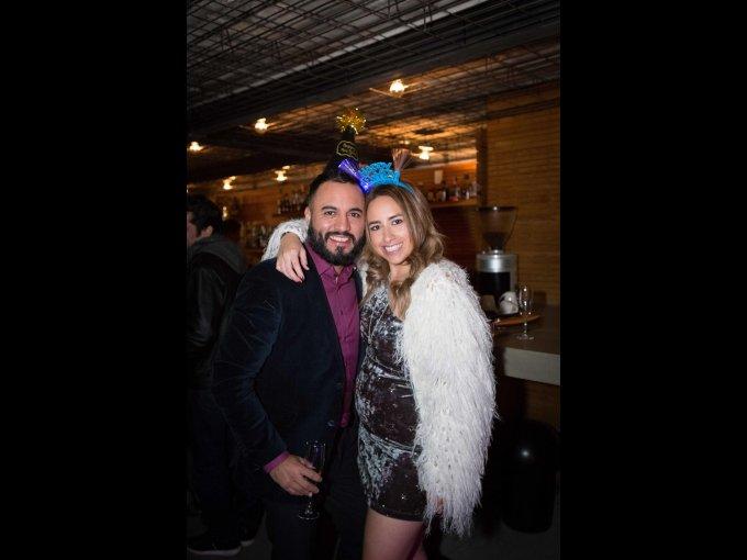 Christian Soria y Daniela Ibarra