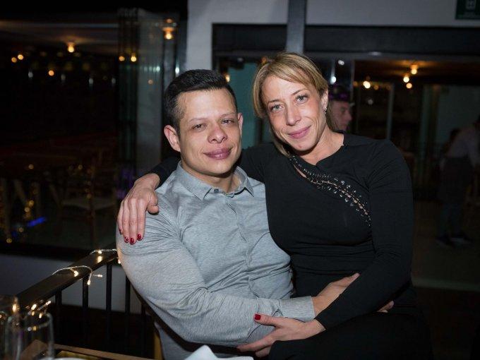 Christian Peña e Yvette Miranda