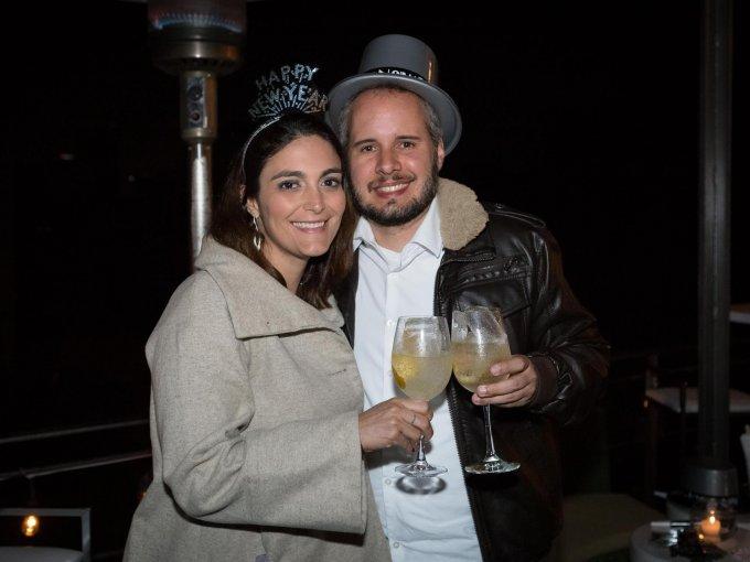 Barbara Gómez y Gustavo Anicio