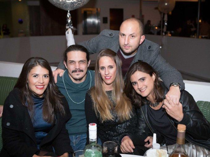Luis Chozas, Paty Meza, Francisco Ponce, Susana Aguilar y Jordina Mateu