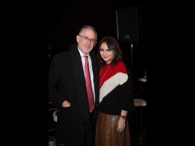 Erik Linner y Karla López