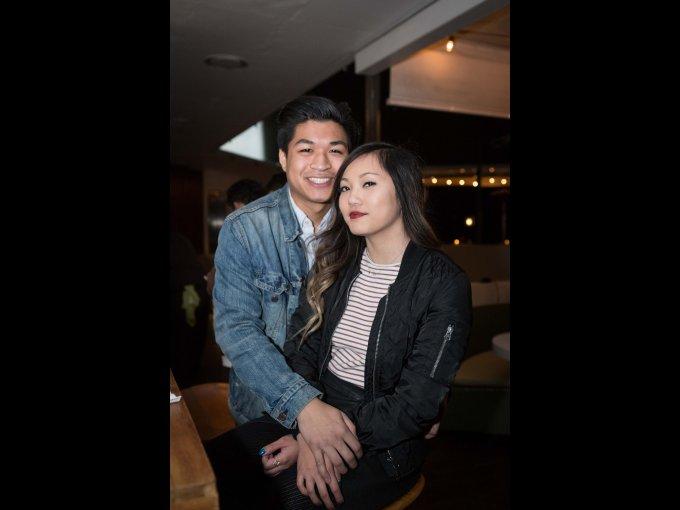 Steven Ngiyer y Rachel Soh