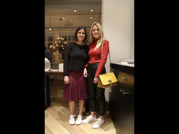 Ana Neri y Daniela Álvarez
