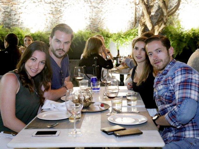 Mónica Pérez, Rodrigo Adame, María Vázquez y Arturo Orenday