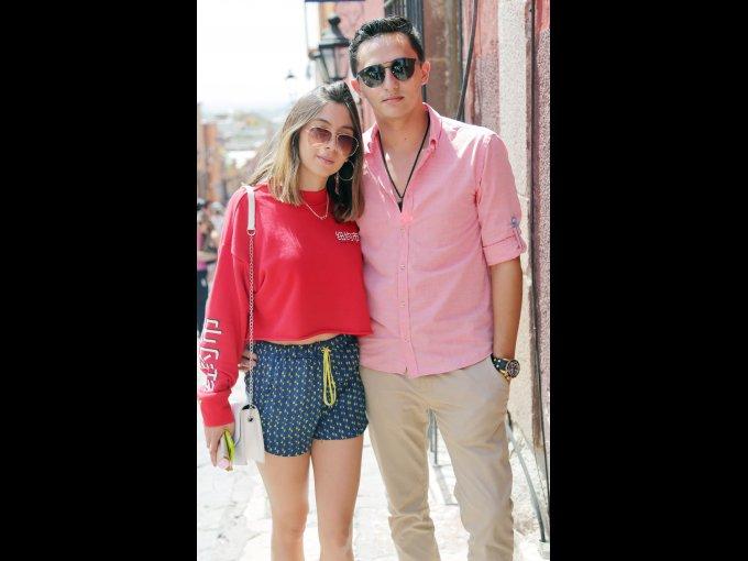 María José Amado y Mauricio Lazo