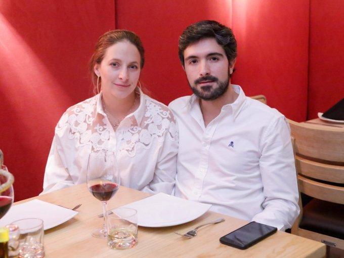 Cecilia Nasta y Luis Ramos