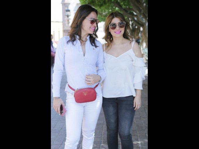 Marcela Ortiz y Marcela Yaniz