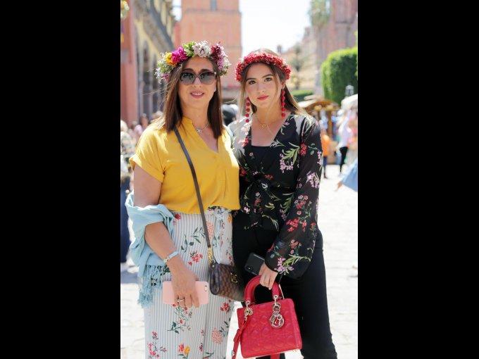 Dora Alicia Aguilar y Natalia Angulo