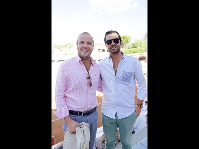 Rodrigo Moncada Servitje y Rafael Alarcón