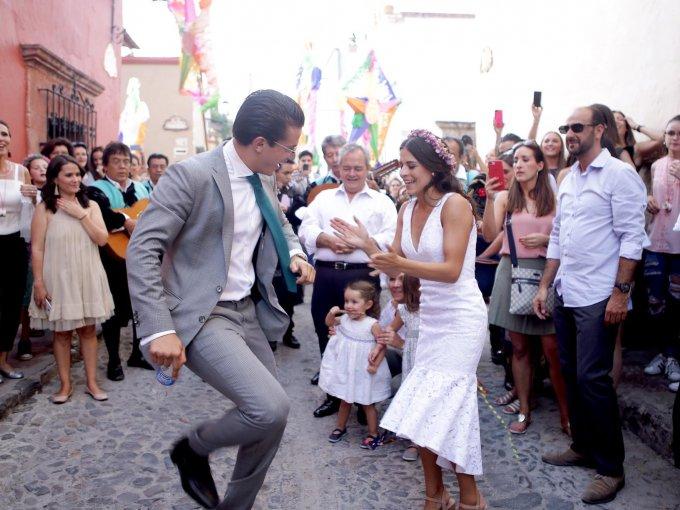 Carolina Chapoy y Ricardo Morán