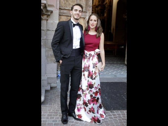 Joaquín Mendoza y Emma Amaya