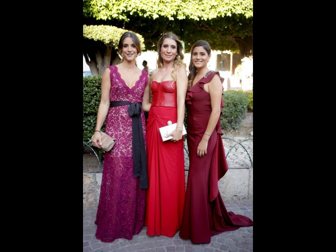 Carolina Olavarrieta, Andrea Olavarrieta y Renata Olavarrieta