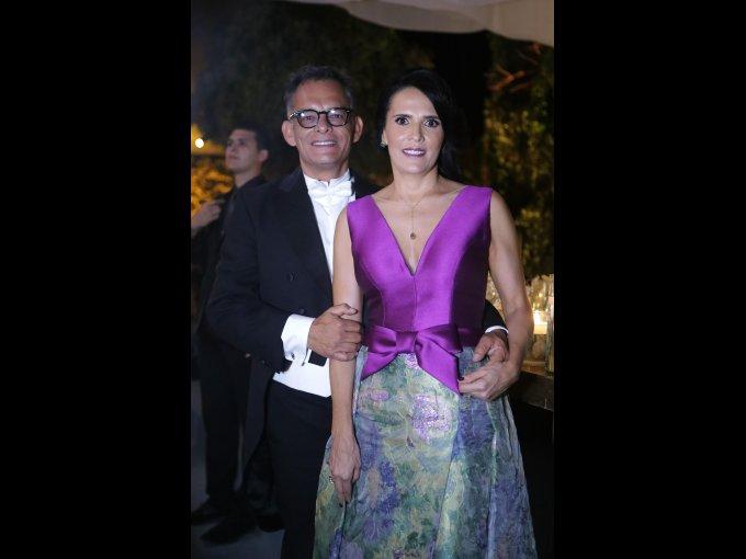 Octavio Chapoy y Carolina Chapoy
