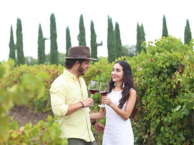 Francisco Cardona y Liz Delgado