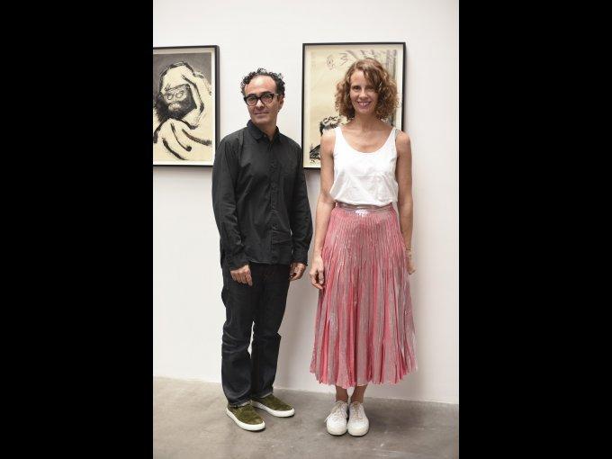 José Kuri y Mónica Manzutto