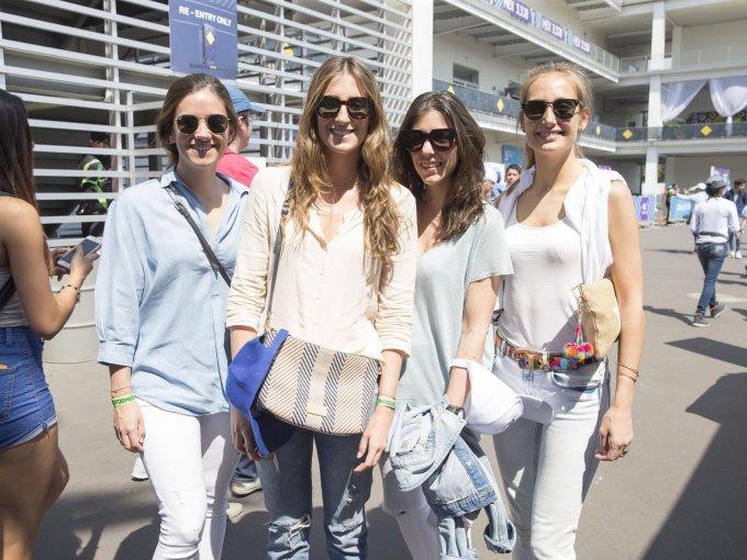 Eugenia Llopart, Bea Alesanco, Rocío Abadía y Mandy Garrigó