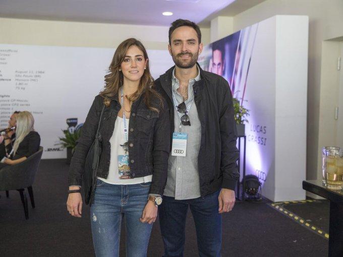 Lucía Sedek y Pablo Vargas