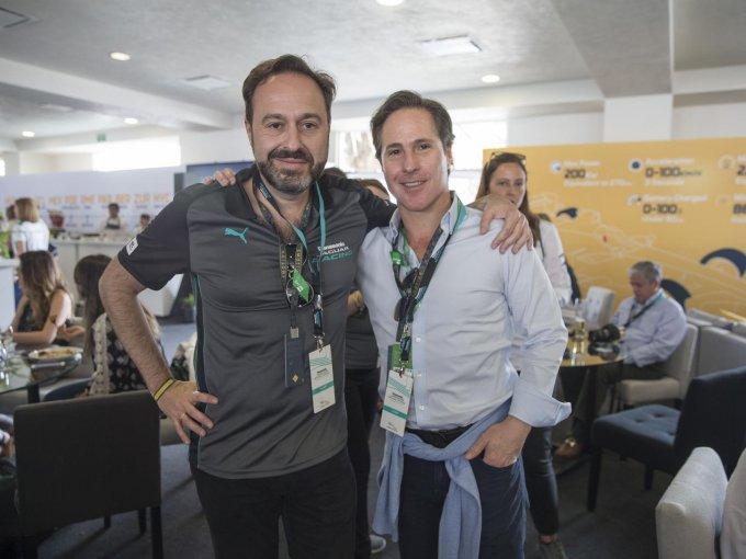 Raúl Peñafiel y Mario Domínguez
