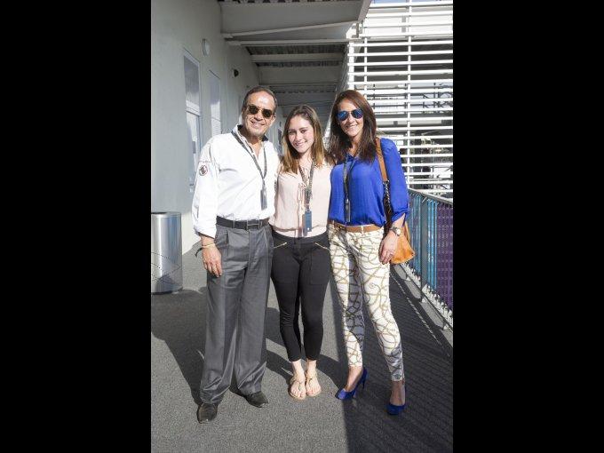 Luis Cervantes, Paulina Zenteno y Paulina Morfín