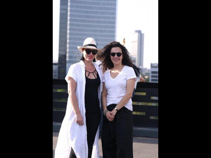 Carmen Ortega y Joanna Ruiz-Galindo