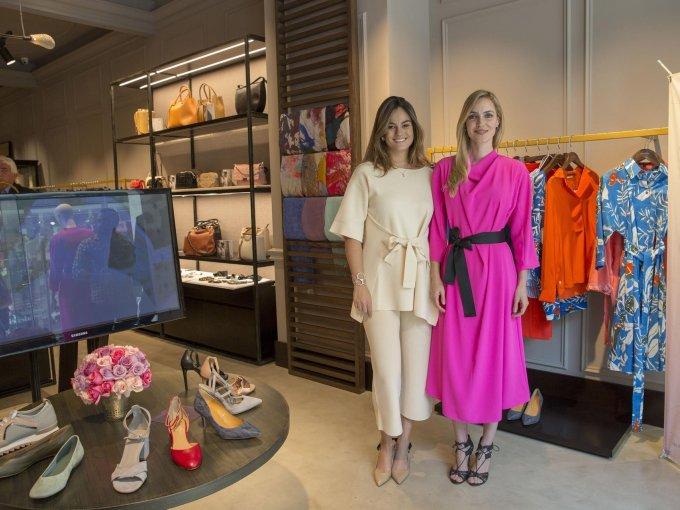Paola Albarrán y Pamela Reiter
