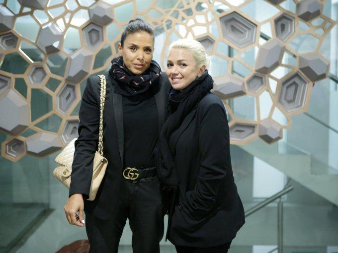 Nathaly Michan y Karla Guindi