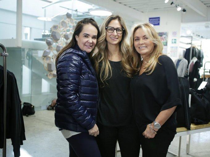 Margarita Pérez Cuéllar, Pixie Devlyn y Rosaura Henkel