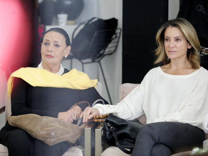 Luisa Tabachnik y Patricia Bessudo