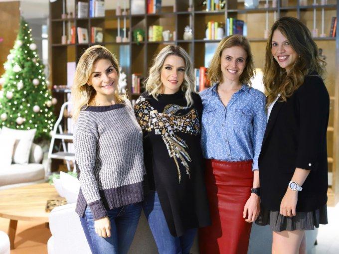 Cristina Rivero, Mercedes Palomar, María Galindo y Paola Tabachnik