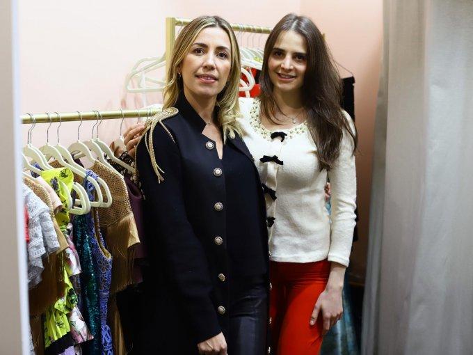 Julia Gutiérrez y Alexis Warman