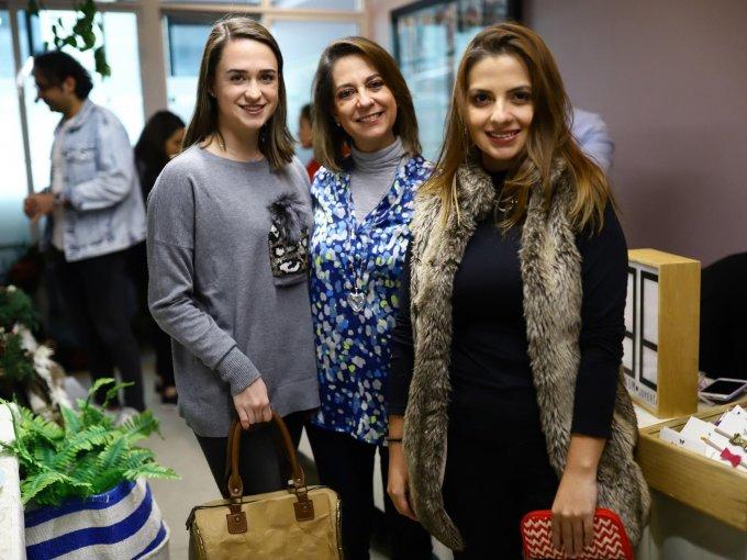 Ane Duhart, Mar Ruiz y Vanessa Alvarado