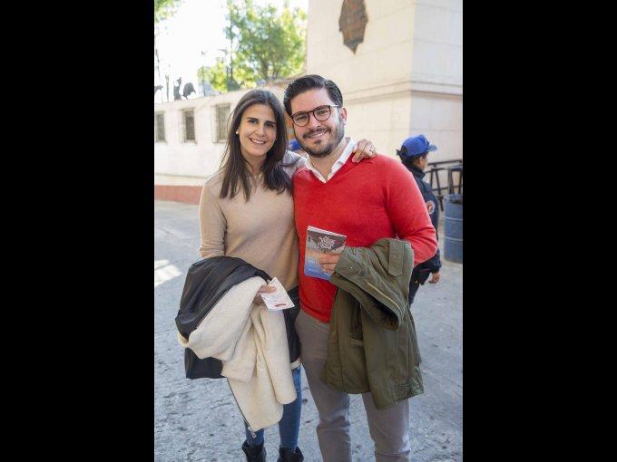 Laura Quintanilla y Daniel Zimbrón