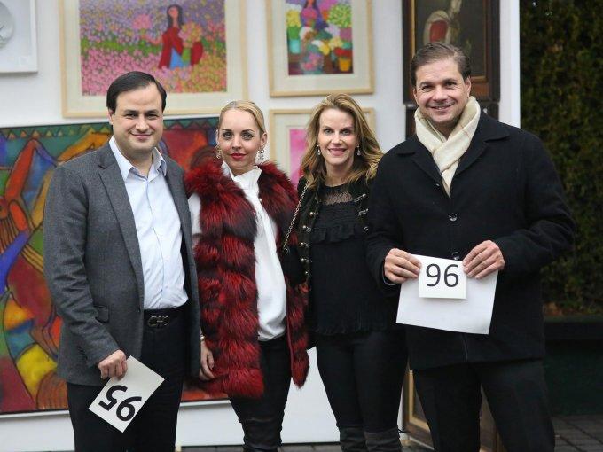 Ignacio Saldaña, Cecilia Maiz, Cecilia Mestre y Fernando López