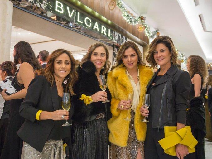 Gaby Trujillo, Rosario García, Georgina Hurtado y Vanessa Trava