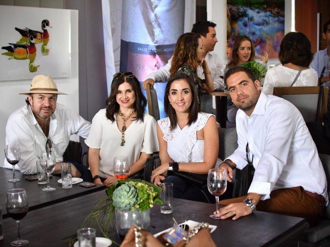 Miguel Papadopulos, Ale Murra, Claudia Hamdan y Enriqe Gallegos
