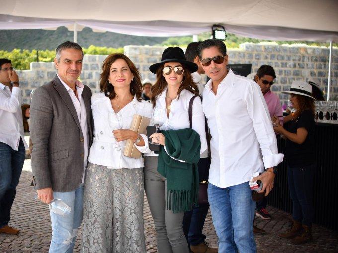 Alberto Villarreal, Sandra González, Mónica Siller y Alejandro Safa
