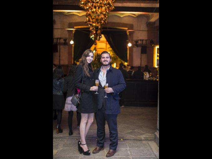Natalia Vargas y Daniel Reyes