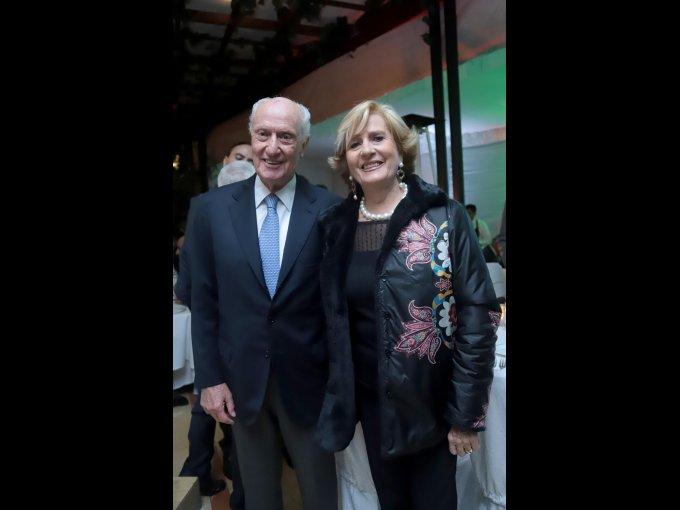 Jaime Alverde y Rosa María Losada