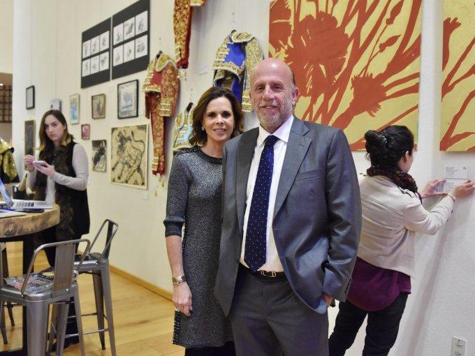 Ana Paula de Haro y José Martínez Vértiz