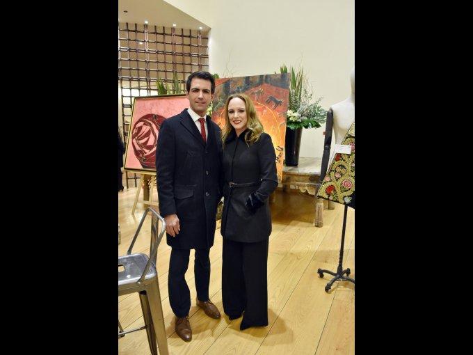 Arturo Macías y Esther Camacho