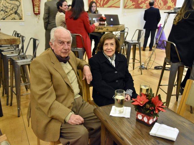 Francisco Breña y Angélica Breña