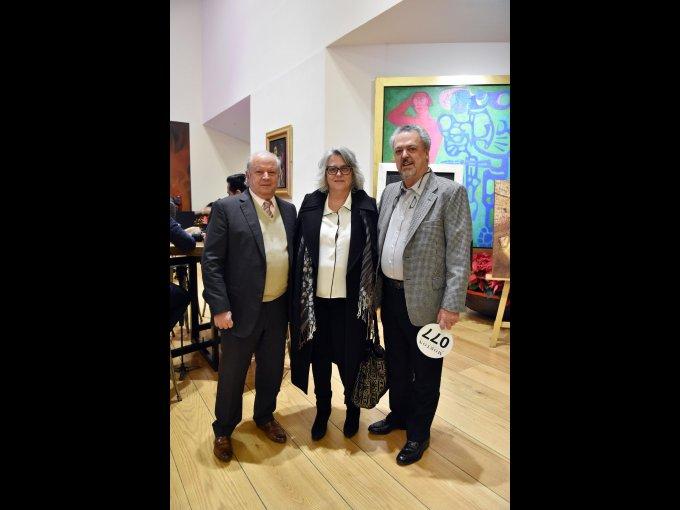 Juan García, Fátima Hidalgo y Joaquín Lot
