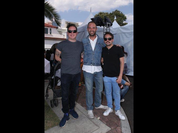 Andrés Lebrija, Ricardo Cortina y Jos Rubio