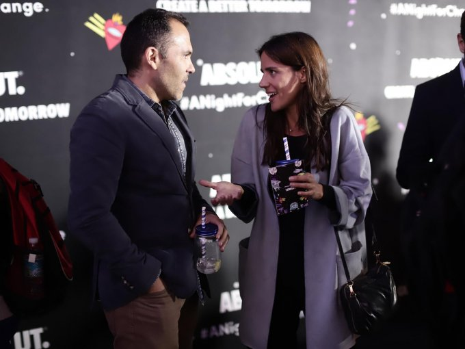 Eduardo Gómez y Carlota Sacristán